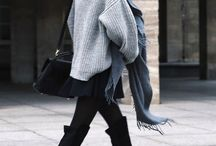 My kind of fashion / Winter clothes, cozy sweaters, simple outfits and things I want to buy