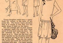 Vintage free sewing patterns