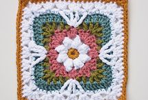 Crocheted squares / by Carla Hess