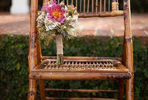 wedding boho tropic ceremony