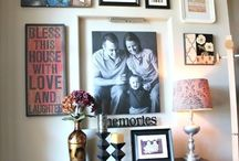Family wall / Ideas for photo display