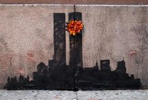 Remembering 9/11 / Artists from all over the world, to never forget. #nineeleven #911memorial