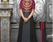 Fashion for Hina Khan Anarkali Suits / Sumptuous Heena Khan Floor Touch Georgette Anarkali Suits Available on http://www.fashionfiza.com/salwar-kameez/catalog