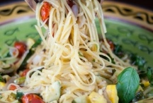 "Good Enough to Eat: Main Meals | ""Pasta"" / Healthy Recipes.  Most Gluten-Free, Paleo and Low-Carb / by Kortney Korthanke"