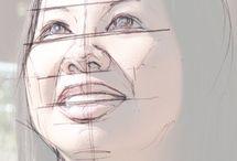 Ceramic face