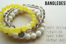 BRACELETS handmade by me / www.facebook.com/bangledesign