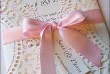 Bröllop - inbjudan