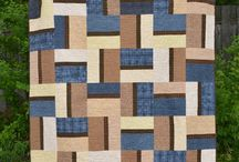 Quilt blocks-Fence Rail
