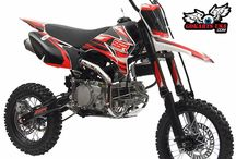SSR 160TX Pit Bike, 4-Speed Manual Clutch / SSR 160TX 4-Speed, Manual Clutch, 13.25hp, Dual Disc Brakes, Chromoly Frame. CARB Certified for sale in CA - RED STICKER