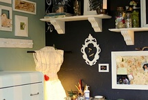 Chalkboard walls / by Kelly Troyer