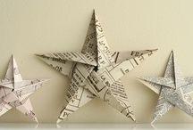 papírové hvězdy