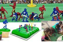 Kaskey Kids Super Bowl Party