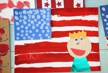 The Red, White, and Blue. / by First Grade Schoolhouse