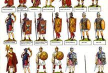 Romains, Grecs...