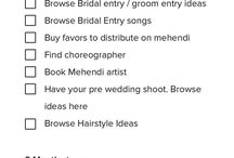 wedding plan of action