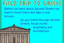Unit 1-4: Ancient Greece, Wonders of the World, Satellites, Greek Art / Teaching kids about ancient Greece, Wonders of the World, Satellites, and Crafts using Layers of Learning homeschooling.