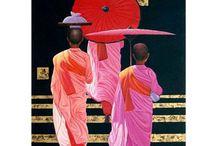 Peintures zen / Ambiance zen sur vos murs avec cette nouvelle galerie de tableaux zen.