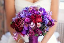 Purple Bouquets and Flowers / Purple Bouquets and Floral Ideas and Inspirations