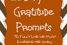 Being grateful / What being grateful means in my life