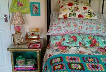 Granny Chic Obsession / A collection of all things modern granny chic. Eclectic, bright, fussy florals, and a beautiful array of color! I love the whimsy of these spaces and items! My heart swells with inspiration at the sight of all these lovelies....