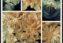 Paper flower from FlowArtDecor / Paper flowers