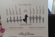Wedding Program / by Crystal Hunt