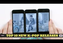 Top 10 New K-Pop Song Releases / These videos are made every 7 days to introduce new songs to K-Pop fans.