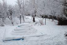 burujerd in snow / burujerd in heavy snow