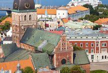 Old European Town