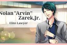 "Shall we date? Love Tangle - Nolan ""Arvin"" Zarek, Jr."