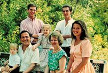 King Constantine, Queen Anne Marie of Greece, Queen Sofia, King Juan Carlos ,  king felipe of spain