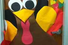 In the Classroom: Thanksgiving / Fun classroom decoration to celebrate Thanksgiving!
