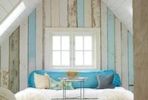 Home Improvement | Plank Walls / Board and Batten, Planked Walls, Pallet Walls / by Beckie Farrant {infarrantly creative}