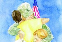 Military child / by Jennifer Benjamin