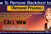 How to Remove Backdoor.Batel From Your PC?