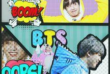 Lock screen wallpaper BTS