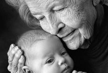 grandmothers and baby
