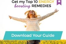 Get Your Mojo Back! Energy Boosters
