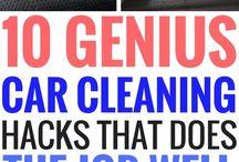 limpieza coche y casa
