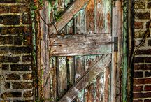 Intriguing Doors and Windows! / Entrances and picturesque  / by Sharon Zuzga