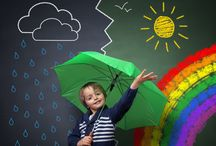 Weather Theme / Weather thematic fun for kindergarten math, reading, social studies, art, music, writing, and science.