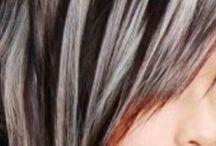 Hide grey hair