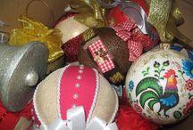 handmade christmas ball / christmas ball, ornaments
