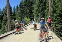 Idaho Coeur d'Alene and Route of the Hiawatha Bike Tour / Come to Idaho for some of the most incredible rail trail riding in the country: The famous Route of the Hiawatha and the Trail of the Coeur d'Alene. You'll get to check these two Rail-to-Trail Conservancy's Hall of Fame trails off of your bucket list!