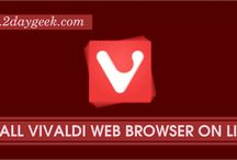 Web Browsers / Best Graphical Web Browsers for Linux