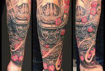 Samurai Tattoo Art