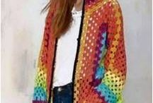 Hooded Cardigan crochet