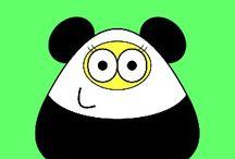 Pou looks