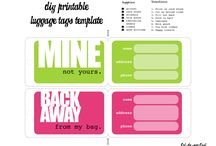 luggage tags and more