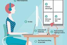 Trabajo / Creatividad, eficiencia e ideas